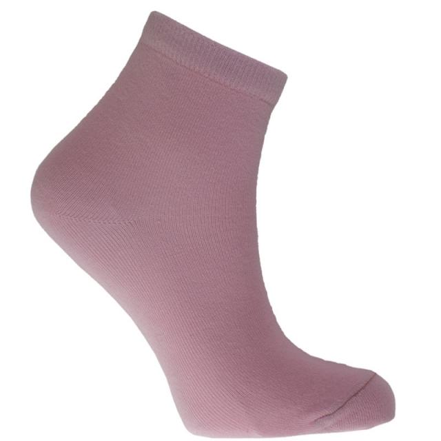 جوراب نیم ساق صورتی
