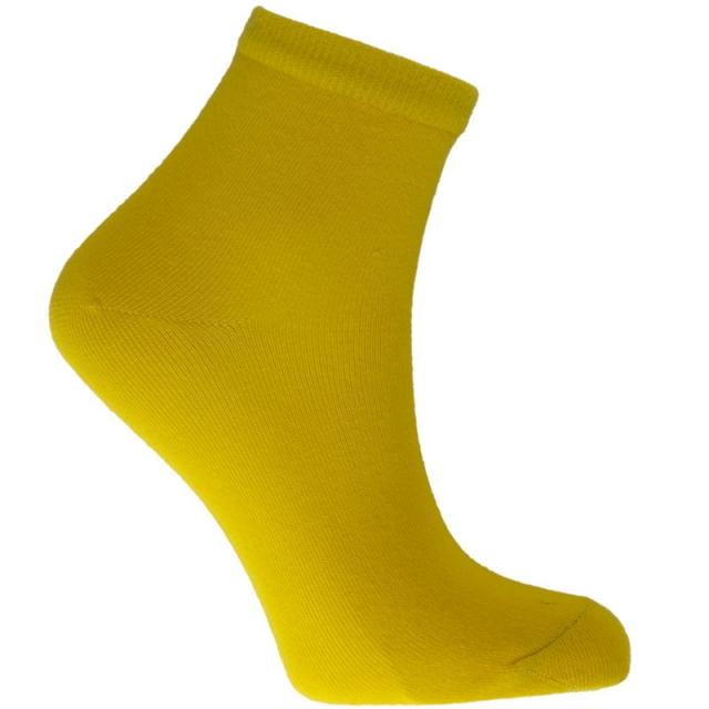 جوراب نیم ساق زرد