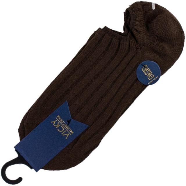 جوراب زیرقوزک مردانه زخیم قهوه ای