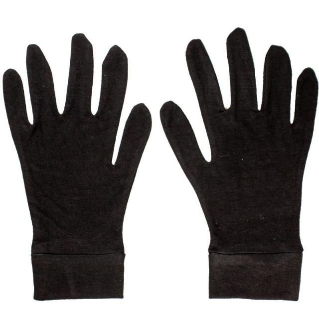 دستکش نخ استرج مشکی کد 21015