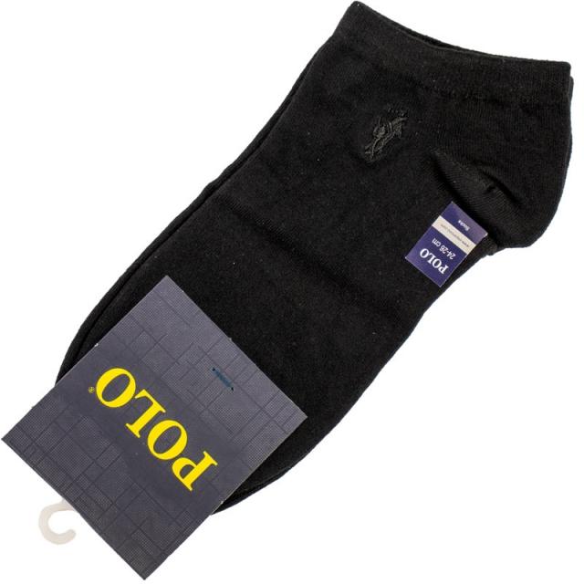جوراب مچی مردانه مشکی POLO