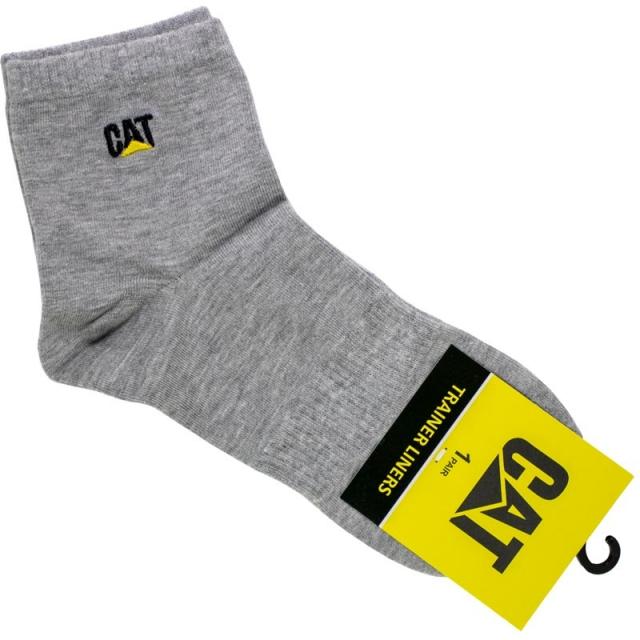 جوراب مردانه نیم ساق طوسی CAT