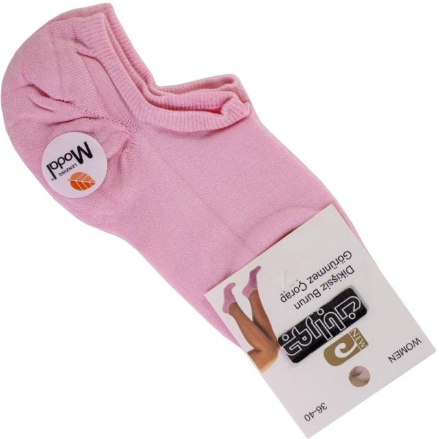 جوراب زیرقوزک زنانه مودال صورتی