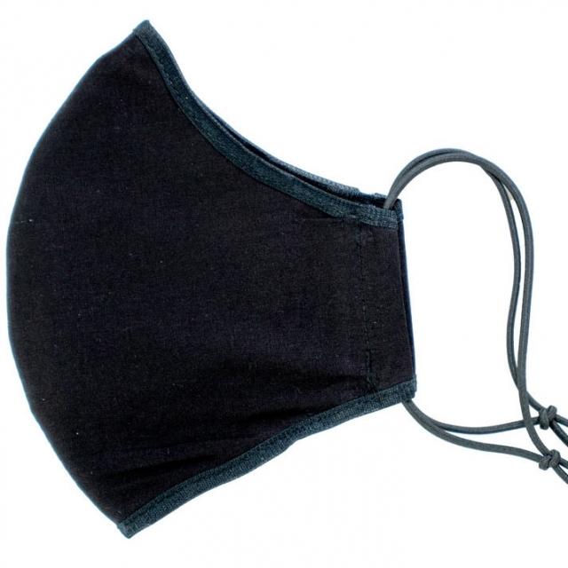 ماسک 3لایه باکش قابل تنظیم مشکی