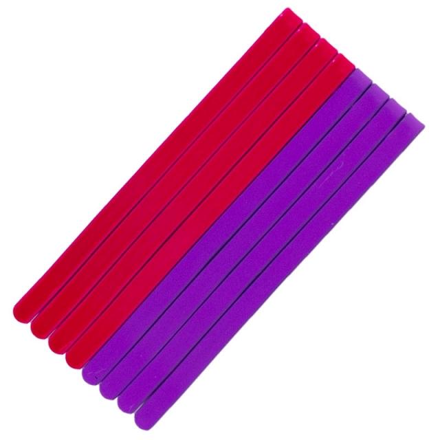 سنجاق مو دو رنگ بسته 8عددی