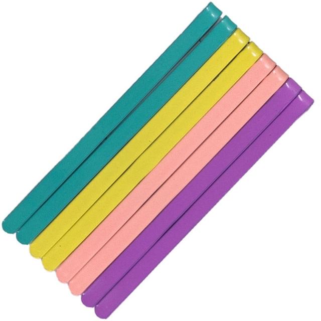 سنجاق مو چهار رنگ بسته 8عددی