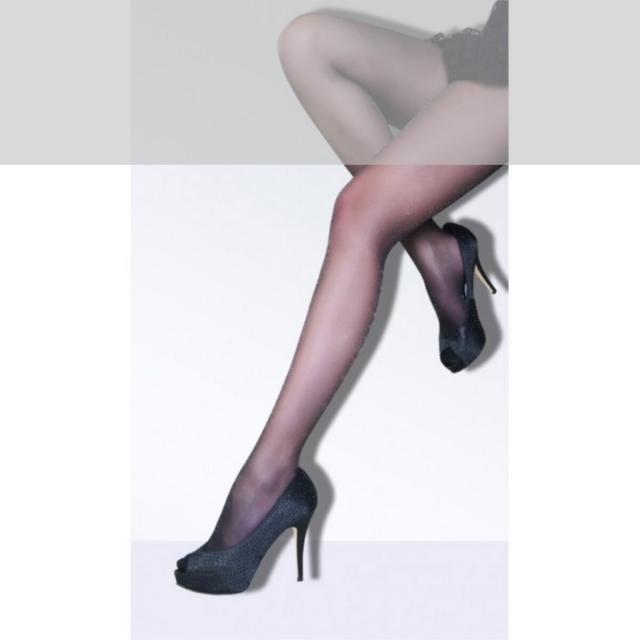 جوراب شلواری شیشه ای لمه براق