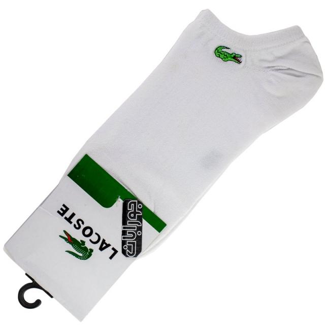 جوراب زیرقوزک مردانه سفید لاکست