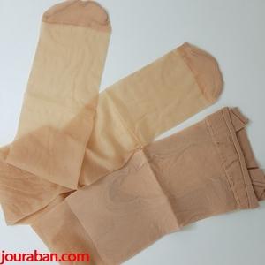 جورابشلواری شیشه ای پنتی رنگ پا