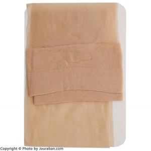 جوراب زنانه شیشه ای سه ربع