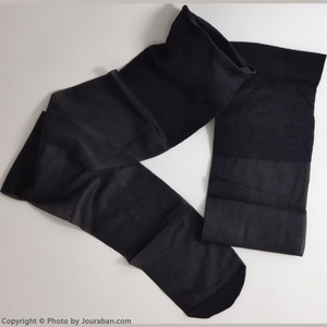جوراب بالای زانو شیشه ای