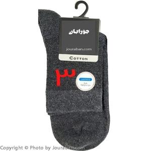 جوراب مردانه نیم ساق مخصوص پاهای حساس یا دیابتی