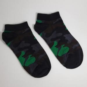 جوراب مچی چریکی سبز زغالی