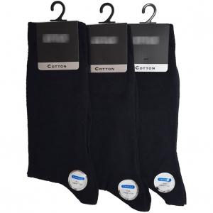 جوراب مردانه دیابتی و پاهای حساس بسته 3 عددی