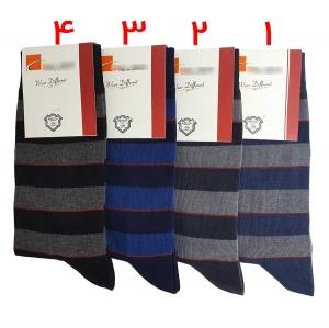 جوراب مردانه ساقدار طرح رینگی