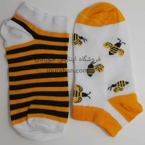 جوراب لنگه به لنگه زنبوری