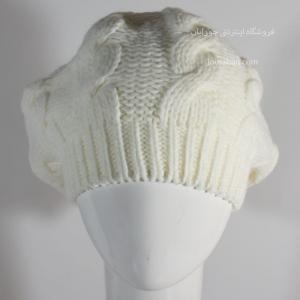 کلاه ترک طرح فرانسوی سفید شیری