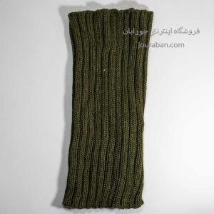 شال گردن مدل یقه اسکی سبز ارتشی