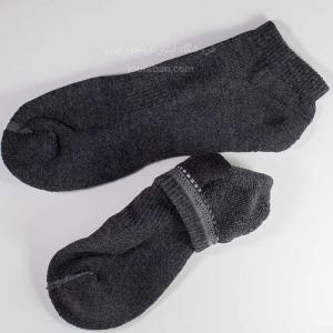 جوراب مچی زغالی کف حوله ای