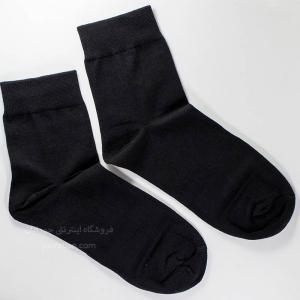 جوراب مردانه نیم ساق مشکی