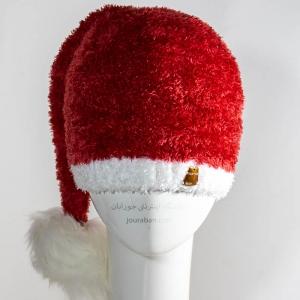 کلاه کریسمس تارتان مدل بابانوئل