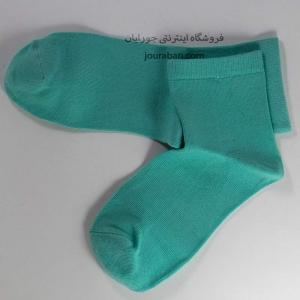جوراب نیم ساق سبزآدامسی