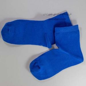 جوراب نیم ساق آبی