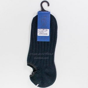 جوراب زیرقوزک مردانه زخیم مشکی