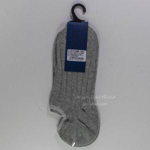 جوراب زیرقوزک مردانه زخیم طوسی