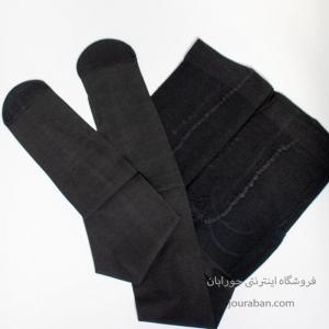 جوراب شلواری شیشه ای مشکی