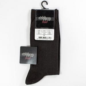 جوراب مردانه بامبو ترک رنگ قهوه ای