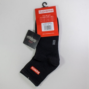 جوراب مردانه نیم ساق مشکی supreme