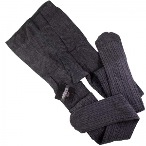جوراب شلواری زنانه طرح گندم زغالی