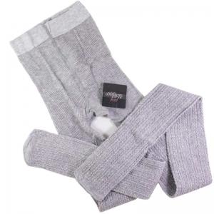جوراب شلواری زنانه طرح گندم طوسی