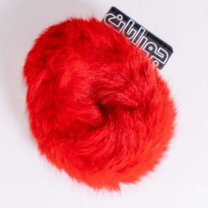 کش مو خز رنگ قرمز