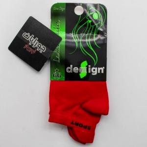 جوراب مچی اسپرت دیزاین قرمز