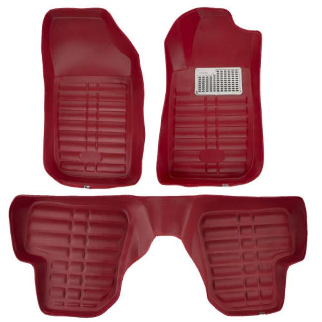 کفپوش سه بعدی خودرو پانیذ مدل 07 مناسب برای پژو 207