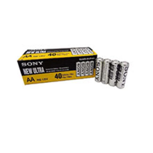 باتری قلمی سونی مدل New Ultra بسته 40 عددی