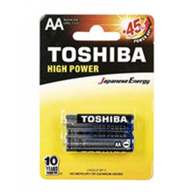 باتری قلمی توشیبا مدل High Power بسته 2 عددی