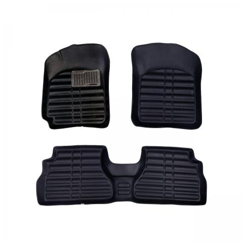 کفپوش سه بعدی خودرو مدل پالیز مناسب برای تیبا-ساینا-پراید