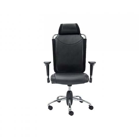 صندلی اداری مدل SM812v چرمی