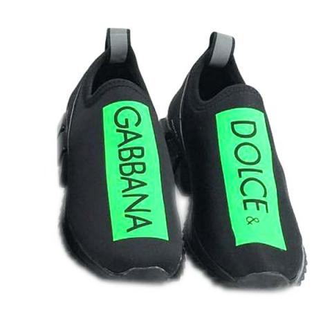 کفش اسپرت جورابی مردانه استیوالی مدل D&G (سبز)