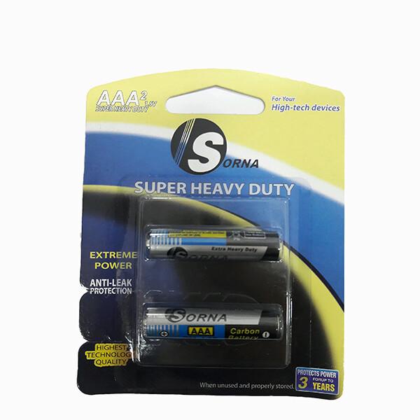 باتری قلمی سورنا مدل Sorna-128 بسته 2 عددی