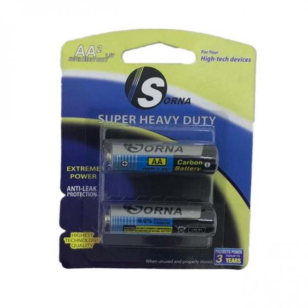 باتری قلمی سورنا مدل Sorna-128 کارتن ۲۸۰ عددی