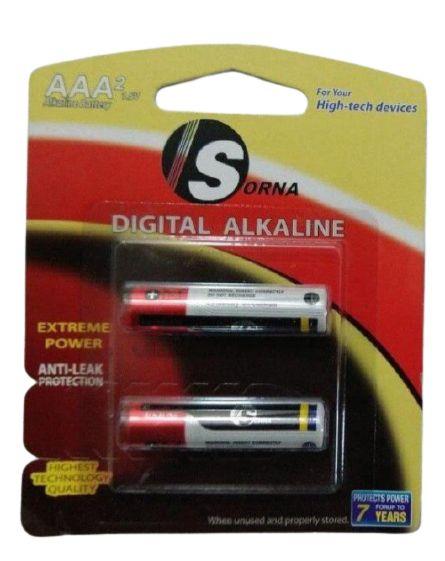 باتری نیم قلمی سورنا مدل Sorna-228 کارتن ۲۸۰ عددی
