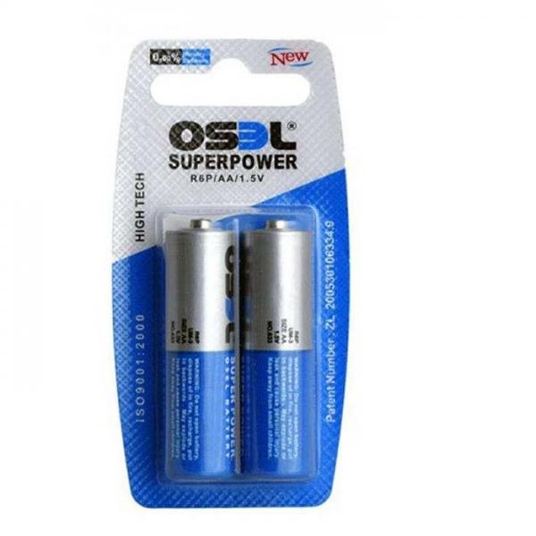 باتری قلمی اوسل مدل R6P بسته 2 عددی