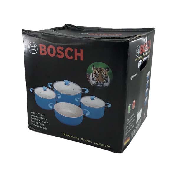 سرویس قابلمه آلومینیوم 7 پارچه مدل BOSCH