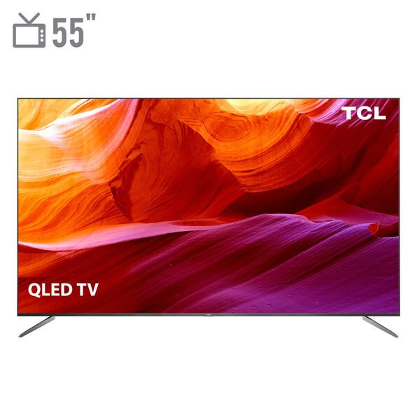 تلویزیون کیو ال ای دی هوشمند تی سی ال مدل 55C715 سایز 55 اینچ