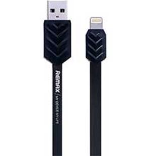 کابل تخت تبدیل USB به لایتنینگ ریمکس مدل Fishbone به طول 100 سانتی متر