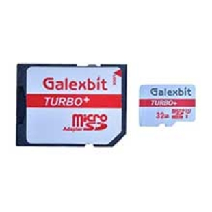 کارت حافظه microSDHC گلکسبیت مدل Turbo+ کلاس 10 استاندارد UHS-I سرعت 80MBps ظرفیت 32 گیگابایت به همراه آداپتور SD